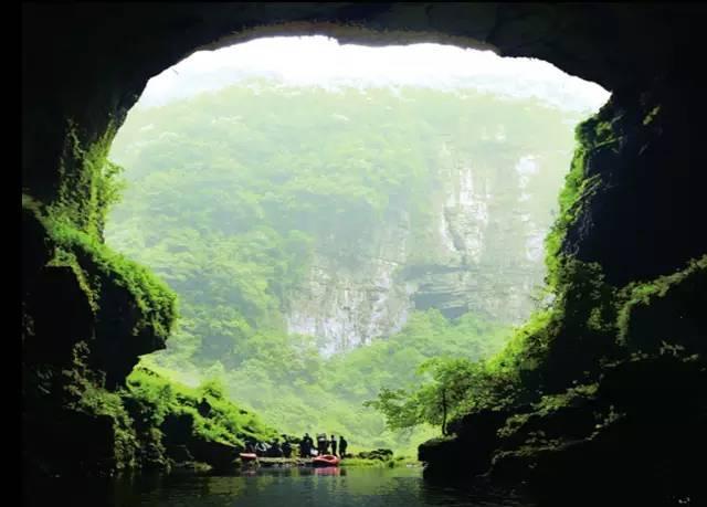解锁│ 贵州自驾36计:十二背后 双河溶洞探地心